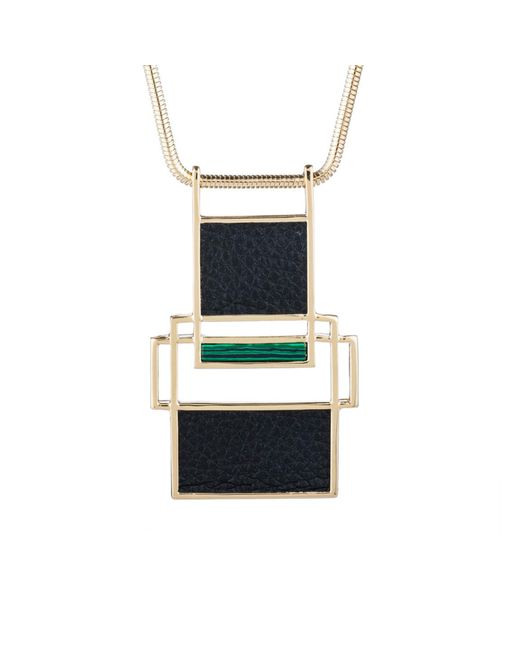Trina Turk | Multicolor Sunset Pendant Necklace | Lyst