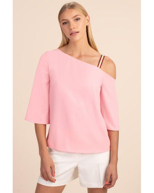 Trina Turk Pink Superior Top