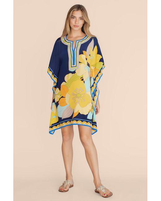Trina Turk Blue Theodora Dress
