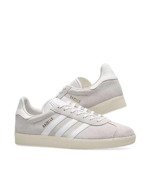 adidas Gazelle Sneakers in Gray - Save 56% - Lyst