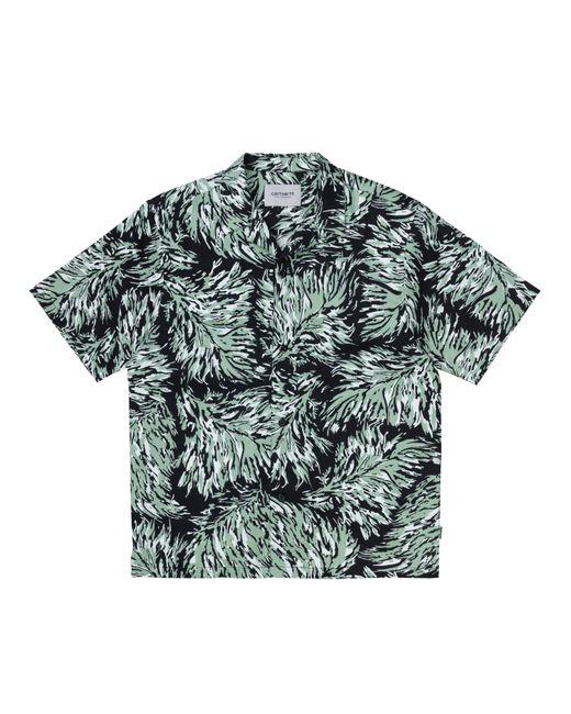 Carhartt Green S S Hinterland Shirt Black for men