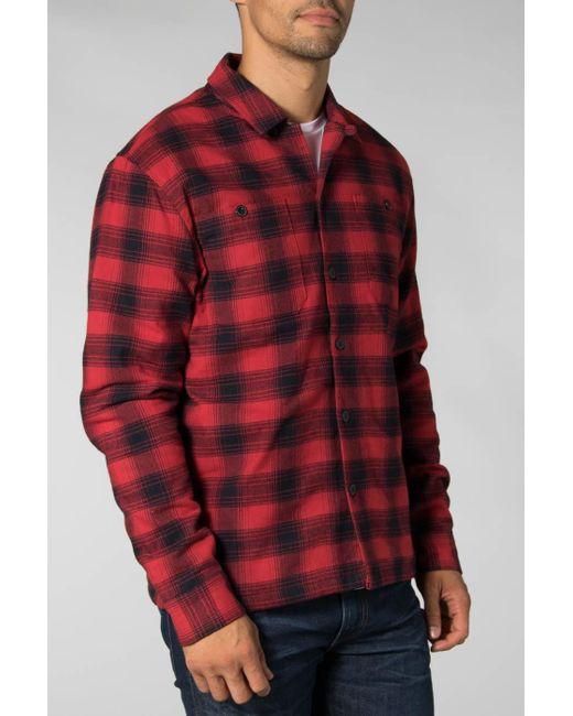 SELECTED Red Dahlia Dark Sapphire Kane Shirt Jacket for men