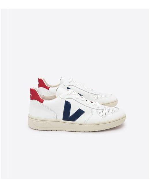 Veja White Nautico Pekin V-10 Men Sneakers for men