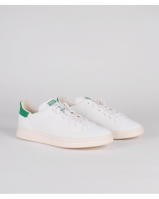 pretty nice 3018d 30b91 Men's White And Green Textile Originals Stan Smith Og Pk Shoes