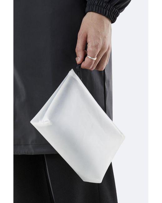 Cosmetic Bag 1560 Foggy White di Rains in Multicolor