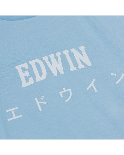 Pool Japan Tee Edwin pour homme en coloris Blue