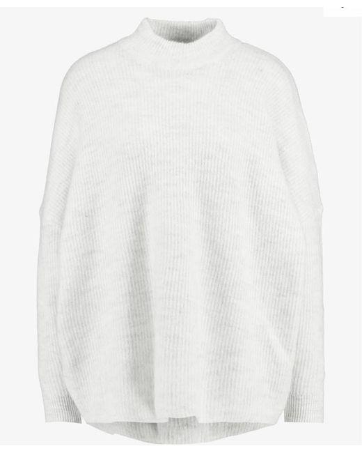 SLFENICA Maglione oversize in maglia color crema di SELECTED in White