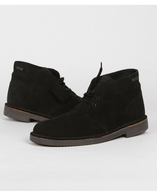 good texture outstanding features later Black Suede Desert Boot Gtx Shoes