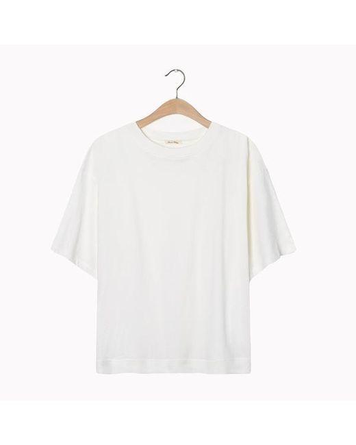 Maglietta Fakobay Fak 46 Bianca di American Vintage in White