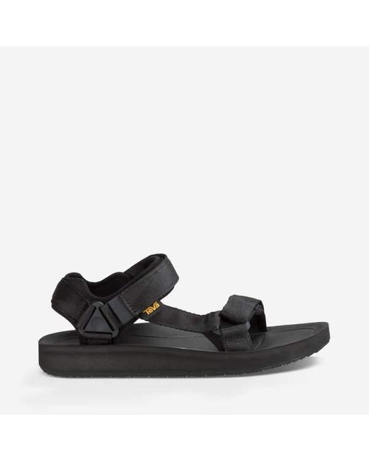 Teva Schwarze Original Universal Premier Sandale in Black für Herren