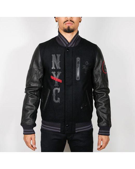 Nike Black And Black Infamous Destroyer Jacket for men