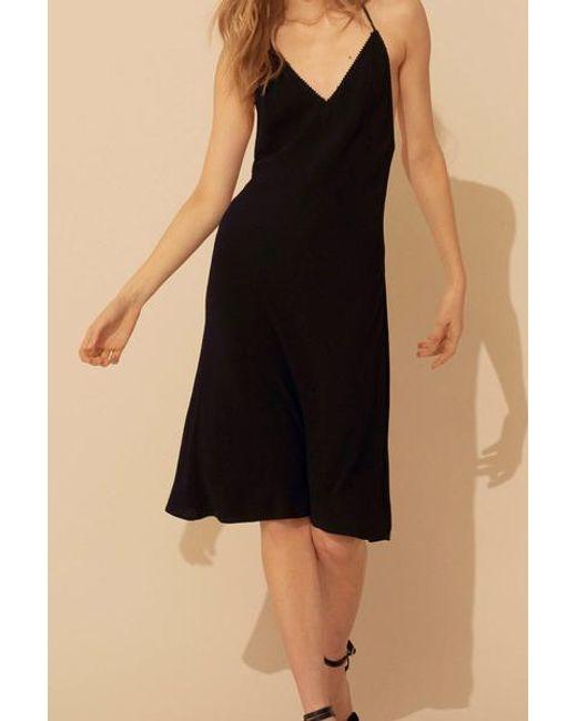 Ba&sh Faustine Dress Black