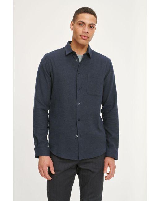Camisa Liam NF 7383 Darkest Spruce Samsøe & Samsøe de hombre de color Blue