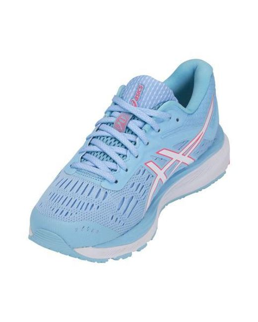 Asics Skylight & White Gel Cumulus 20 Trainers in Blue - Save 54% - Lyst