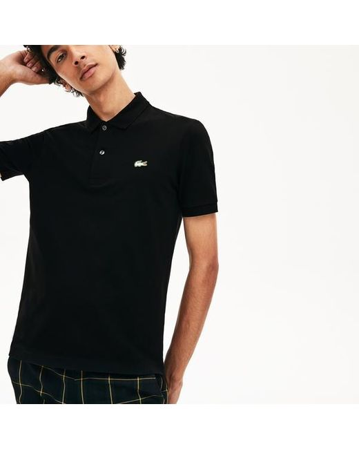 Black Slim Fit Polo Shirt