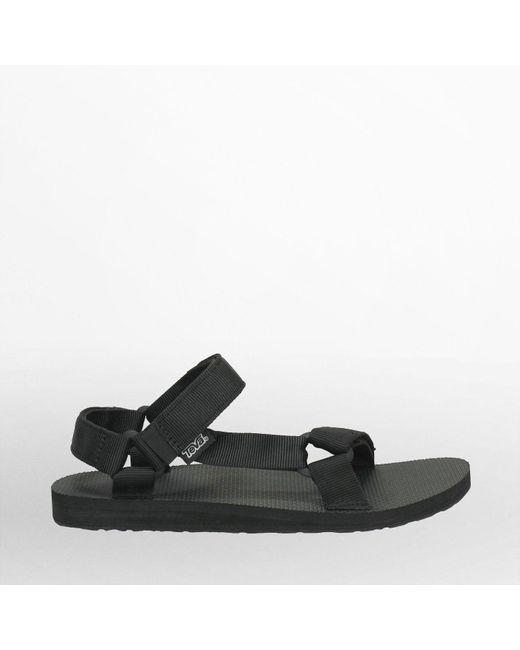 Teva Schwarze Original Universal Sandale in Black für Herren