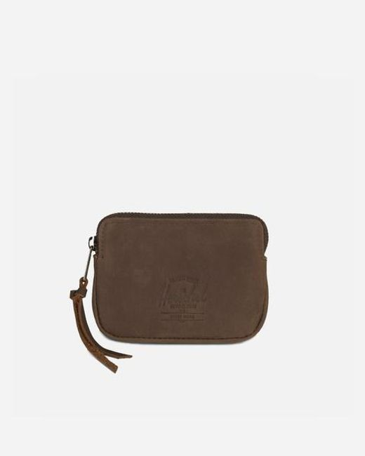 Herschel Supply Co. Oxford Nubuck Brown Wallet