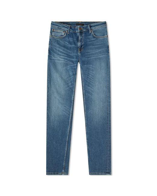 Nudie Jeans Skinny Lin Jean Dark Blue Navy for men