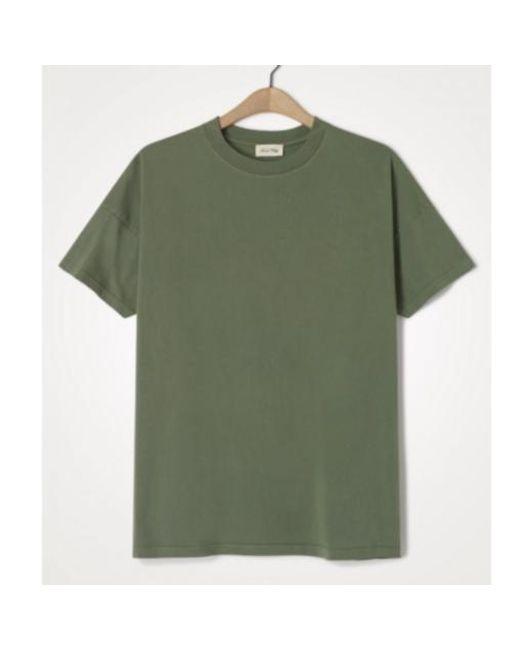 Camiseta Fizvalley Verde American Vintage de hombre de color Green