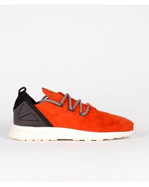 save off 7e879 aa8de Men's Red 11 Us / 45 1/3 Eu Size Craft Chili Leather Originals Zx Flux Adv  X Shoes