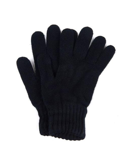 Gants Noirs En Laine D'agneau Barbour pour homme en coloris Black