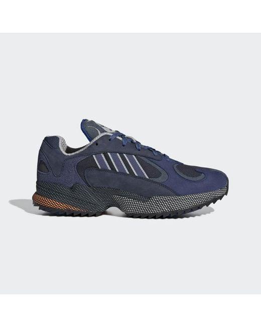 Adidas Blue Legend Ink Tech Indigo And Gray Two Zapatilla Yung 1 for men