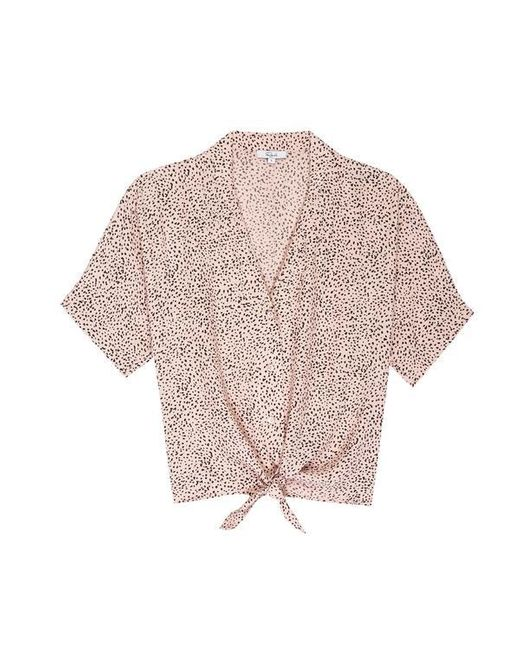 Rails Pink Thea Shirt Rose Spotted