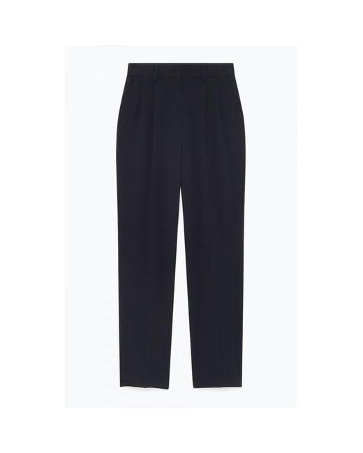 American Vintage Pantalones de cintura alta en azul marino de Didaboo de mujer