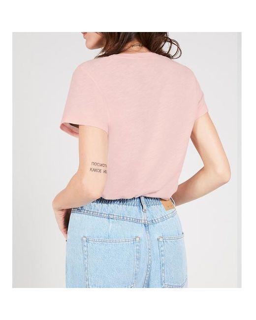 Camiseta Jac 48 Wild Rose American Vintage de color Pink