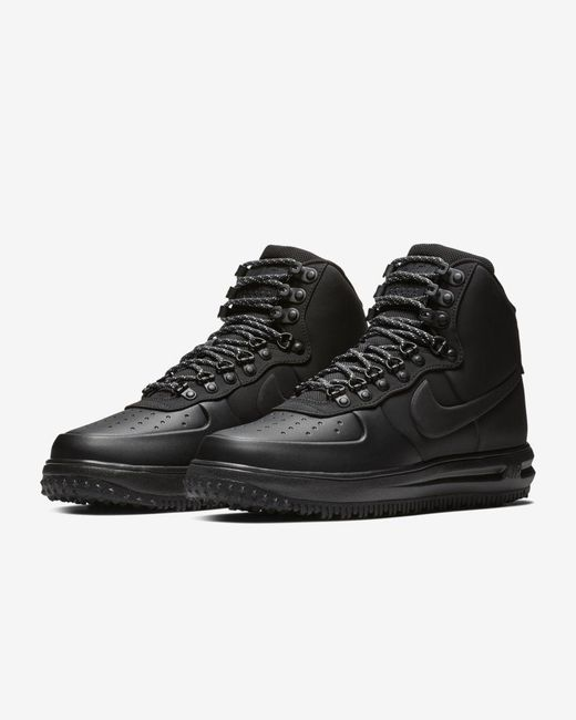 Lunar Force 1 Duckboot - Sneakers nere BQ7930-003 di Nike in Black da Uomo