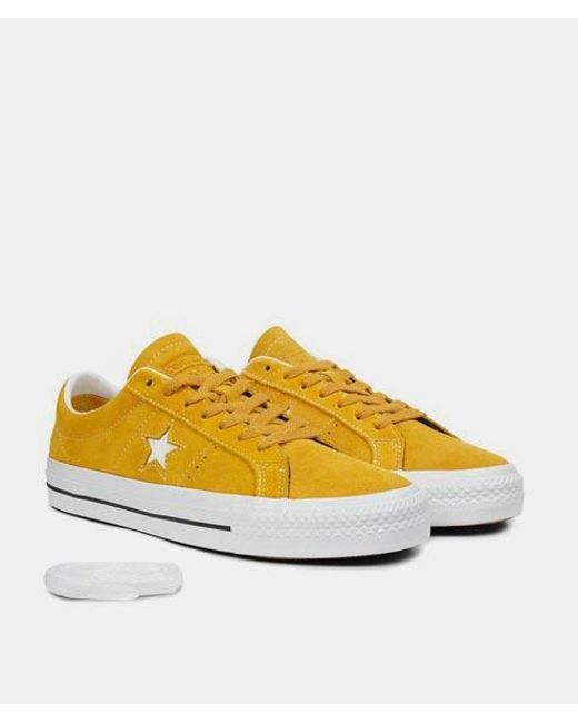 2converse one star yellow