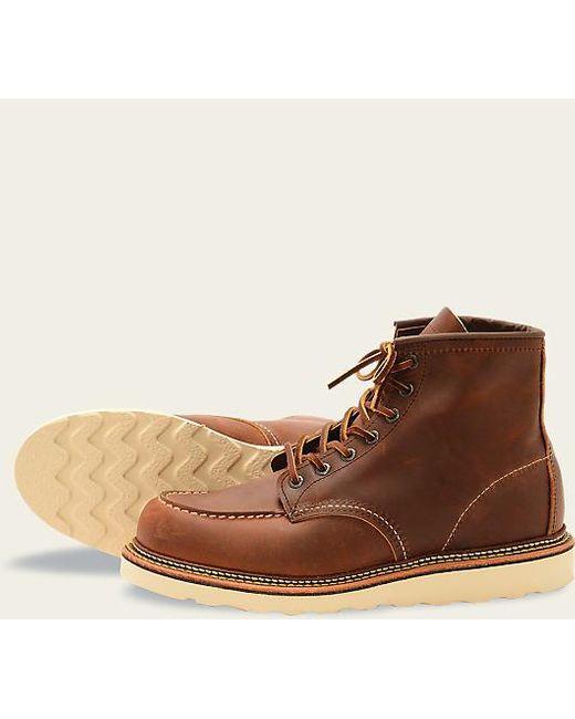 1907 Moc Toe Copper Rough & Tough Hommes Chaussures Red Wing pour homme en coloris Brown