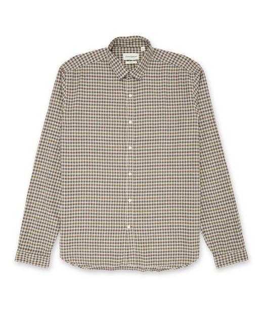 Clerkenwell Tab Shirt Thorndon Multi di Oliver Spencer in Gray da Uomo