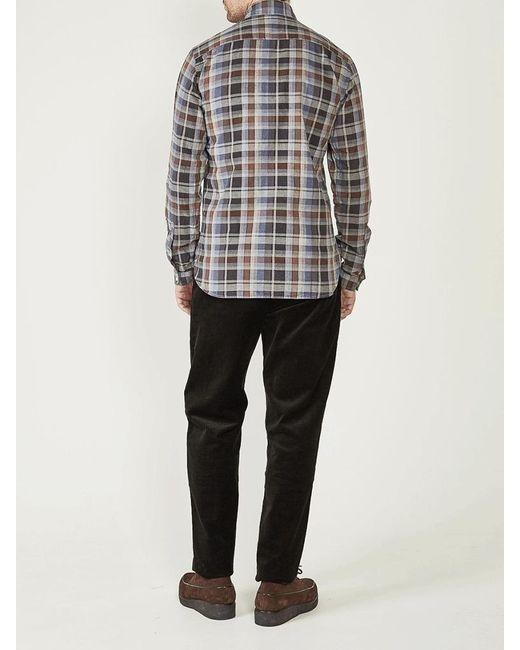 Camicia Aston Alvas In Multi di Oliver Spencer in Multicolor da Uomo