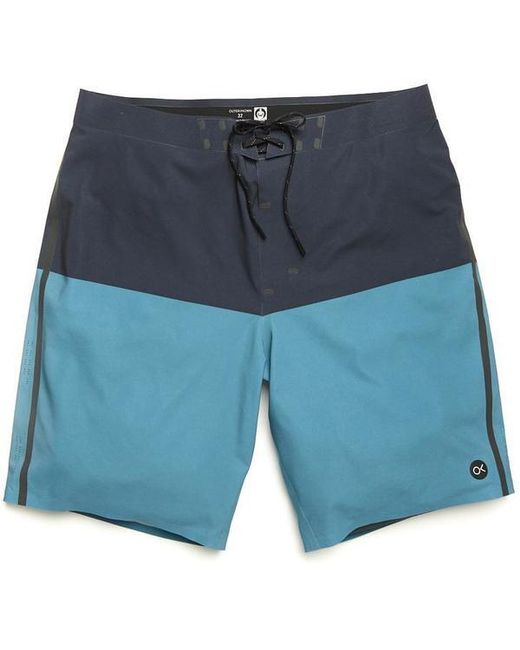 Apex Trunk By Kelly Mosaic Blue Block Outerknown pour homme
