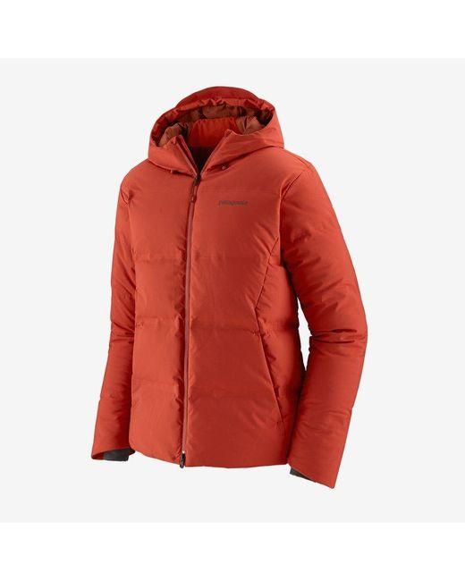 Patagonia Herren Jackson Glacier Jacke Hot Ember HTE in Red für Herren