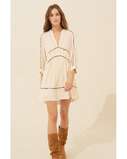 7f5a2497 Ba&sh Raw Franny Dress in White - Lyst