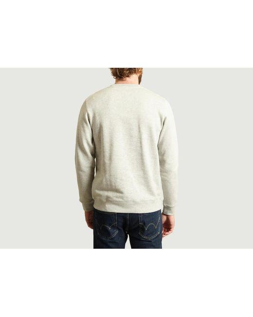 Sweat classique Vagn en coton gris clair Norse Projects pour homme en coloris Multicolor
