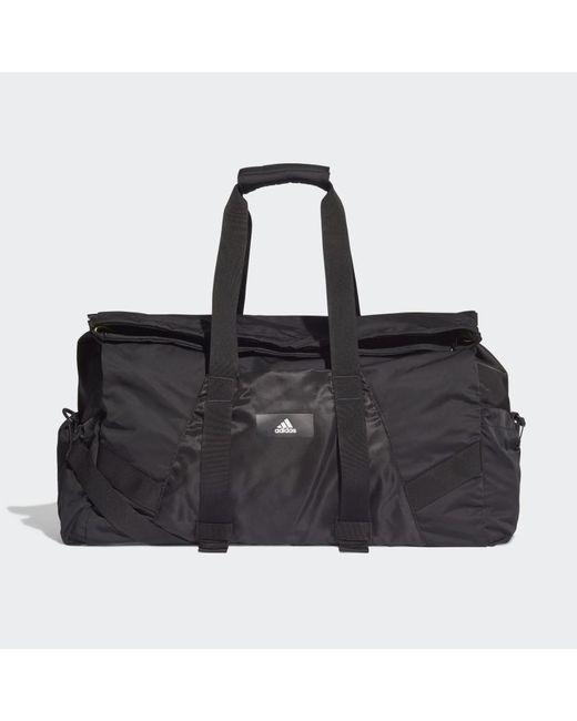 Borsa sportiva nera da 63 litri di Adidas in Black da Uomo
