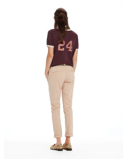 Pantaloni chino rosa di Maison Scotch in Pink