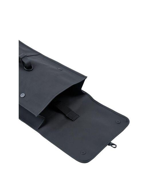 Mini zaino di Rains in Black da Uomo