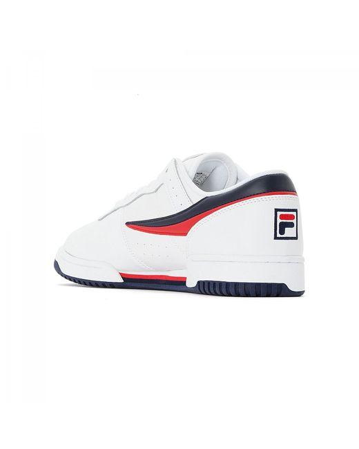 Fila Talla 40 Blanco Original Fitness Hombres Zapatos