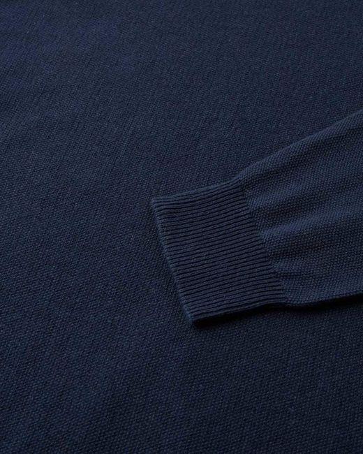 Minimum Navy Curth Strickpullover in Blue für Herren