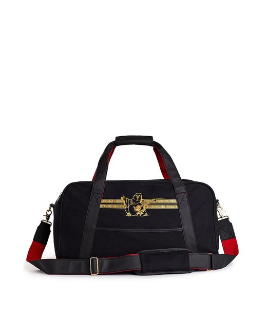 8fe0df3491f2 True Religion - Black Buddha Banner Duffle Bag for Men - Lyst ...
