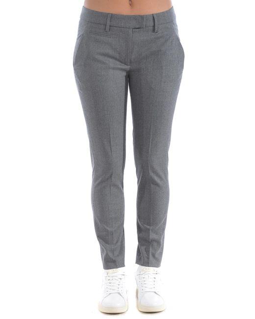 "Pantaloni ""perfect"" di Dondup in Gray"