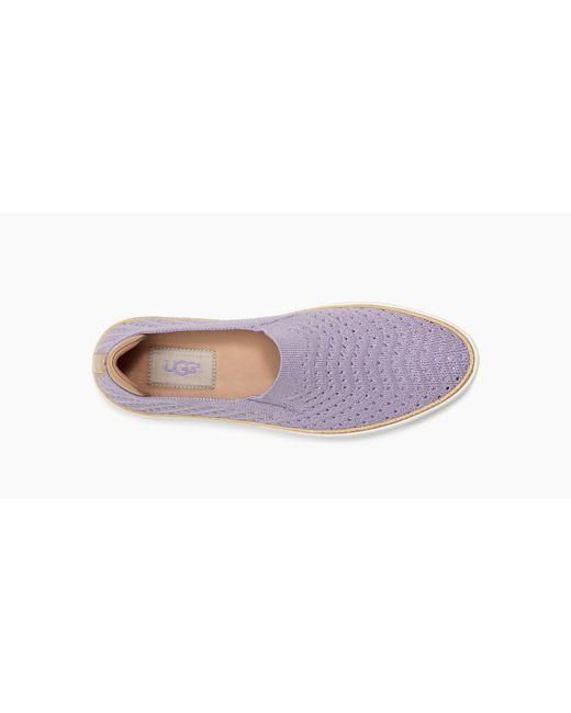 eed0738eccc Purple Women's Sammy Chevron Metallic Slip On