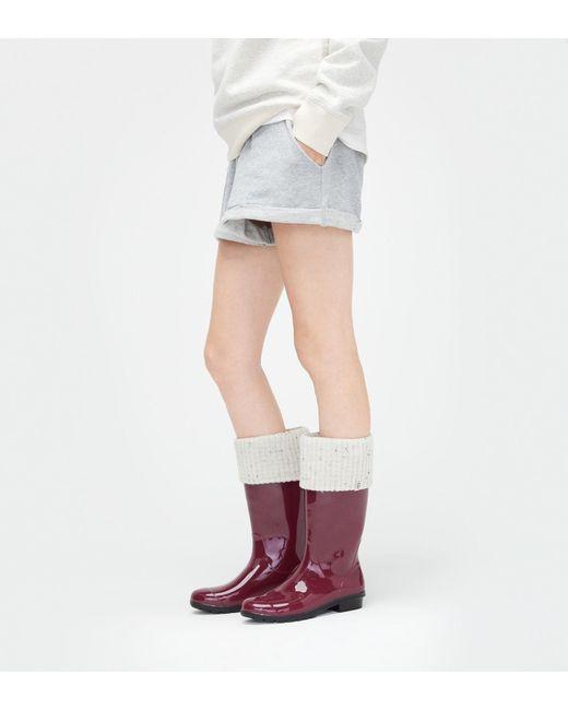 Ugg - Multicolor Women's Shaye Tall Rain Boot Sock ...