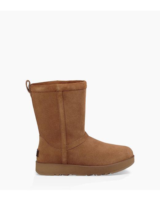 Ugg - Brown Classic Short Waterproof Boot Classic Short Waterproof Boot - Lyst