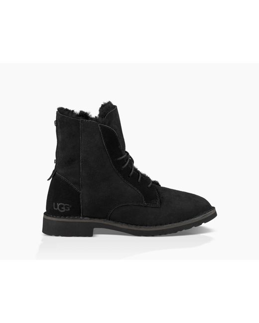 Ugg - Black Quincy Boot - Lyst