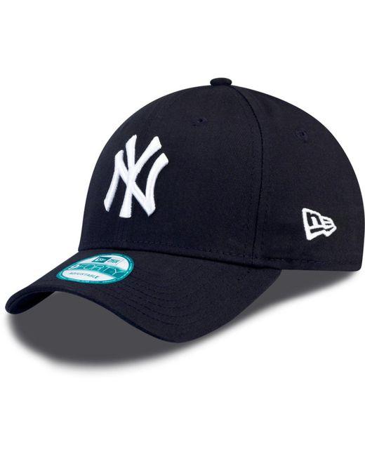 4c784e75e 6abdd afe8b; where can i buy ktz blue 9forty new york yankees adjustable  baseball cap for men lyst